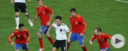 德国0-1西班牙 上半场