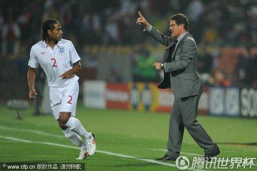 2010世界杯C组:英格兰Vs美国