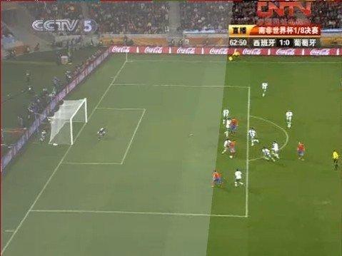 比利亚进球疑似越位 FIFA拒绝慢镜头因心虚?