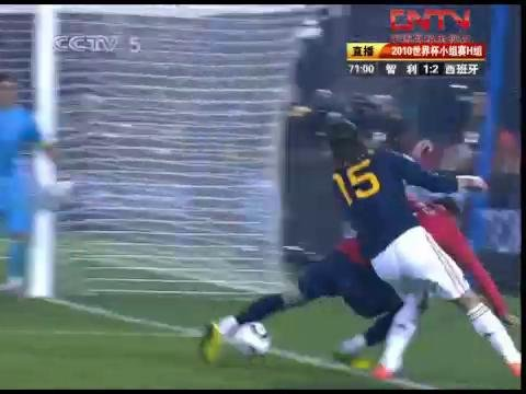 视频:智利VS西班牙70-75分钟比赛精彩回放
