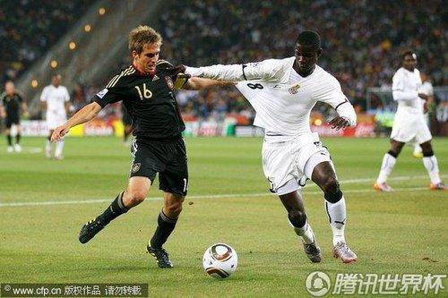 2010世界杯D组末轮:加纳Vs德国