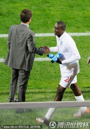 2010世界杯小组赛C组首轮:英格兰1-1美国