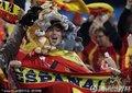 西班牙球迷装扮怪异
