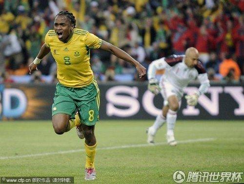 世界杯首日最佳球员:南非中场沙巴拉拉当选