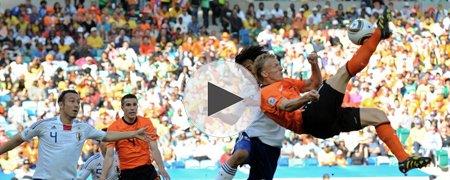 荷兰1-0日本 上半场