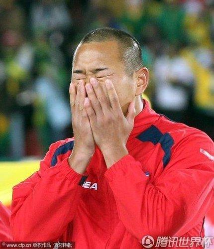 郑大世释疑听国歌缘何泪奔 埋怨自己未能进球