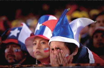 京华时报:西班牙VS智利 虎头蛇尾两队挨嘘