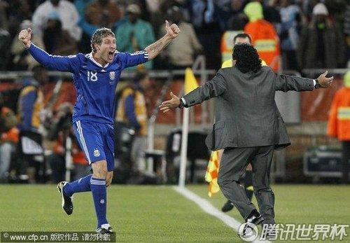 2010世界杯:阿根廷vs希腊