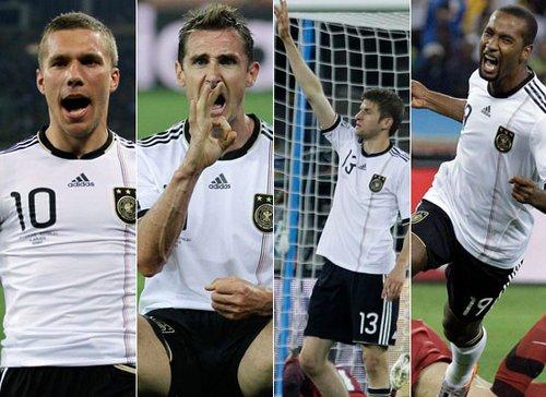 世界杯-德国4-0澳大利亚 近三届首战狂进16球