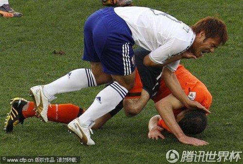 2010世界杯小组赛E组次轮:荷兰Vs日本