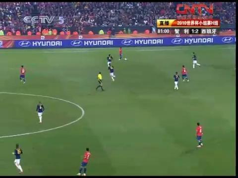 视频:智利VS西班牙80-85分钟比赛精彩回放