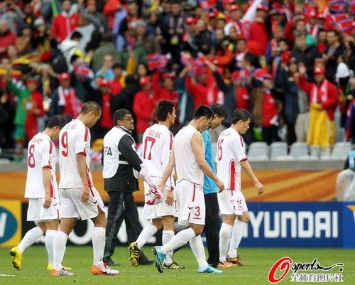 朝鲜惨败但绝不肮脏 最干净球队理应赢得尊重