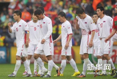 朝鲜主帅:葡萄牙进攻实在太强 准备下场比赛
