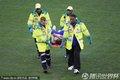 日本球员受伤下场
