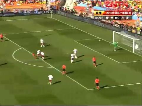 视频策划:荷兰VS丹麦上半场 乏味比赛无亮点