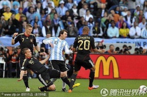 2010世界杯1/4决赛:阿根廷vs德国
