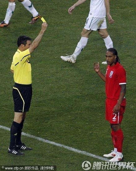 2010世界杯小组赛C组末轮:英格兰Vs斯洛文尼亚