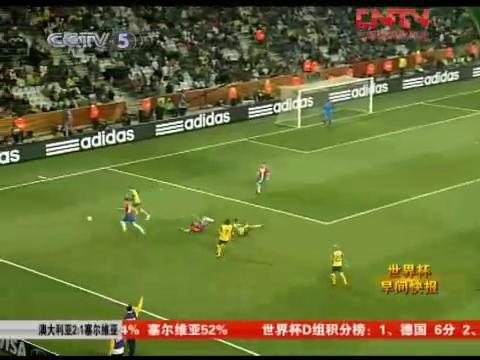 视频:澳大利亚世界杯首胜 却惨遭遗憾出局