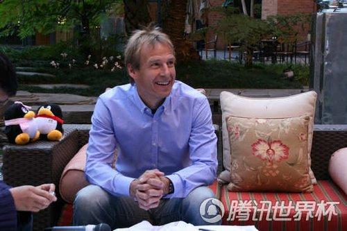 专访克林斯曼:巴拉克不可缺 中国该办世界杯