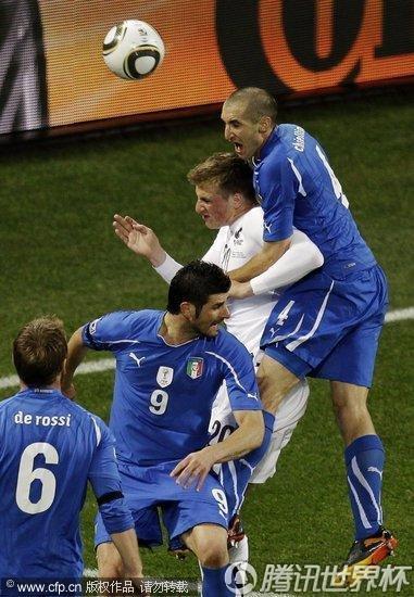 2010世界杯:意大利vs新西兰