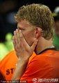 荷兰队员哭泣