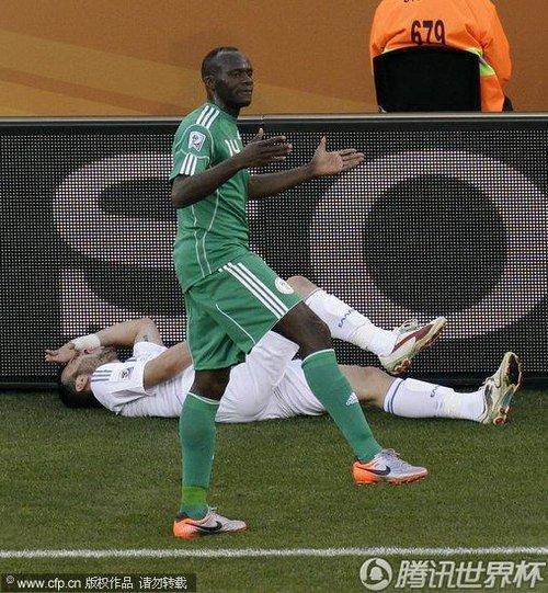 2010世界杯小组赛B组次轮:希腊2-1尼日利亚(精选)