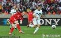 图文:英格兰1-0斯洛文尼亚 鲁尼射门
