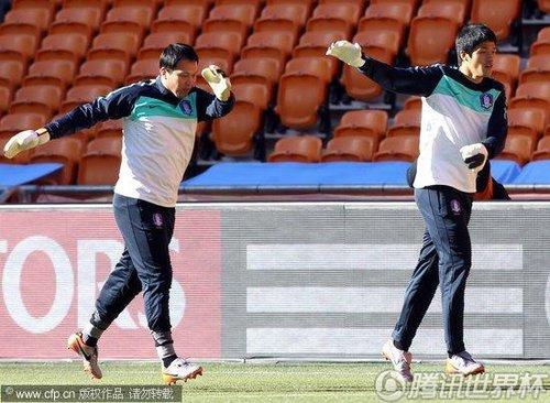 2010世界杯B组次轮前瞻:韩国6月16日备战训练