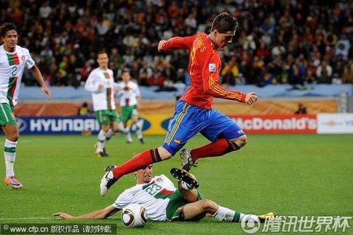 2010世界杯1/8决赛:西班牙Vs葡萄牙