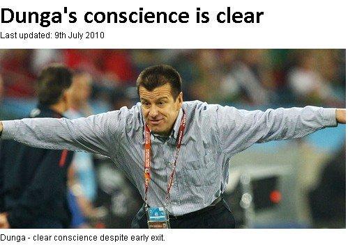 邓加一改姿态出尔反尔 拒为世界杯出局担责任