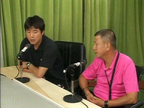 隋东亮(左)李萱(右)