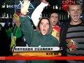 """视频:西班牙巴拉圭球迷""""有人欢喜有人忧"""""""
