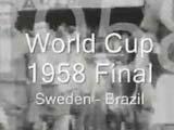 视频:第6届世界杯决赛 巴西克瑞典首次夺冠