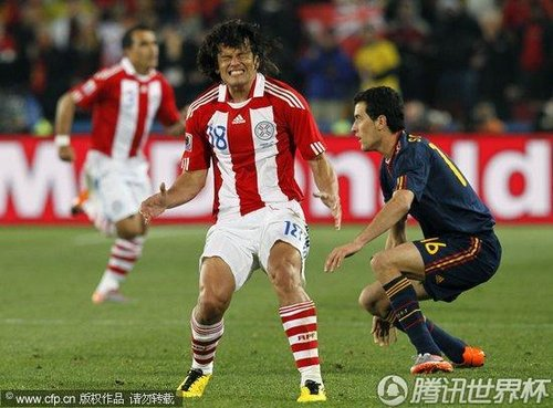 2010世界杯:西班牙vs巴拉圭