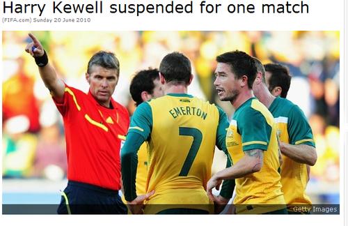 国际足联正式判罚科威尔 生命斗士禁赛一场