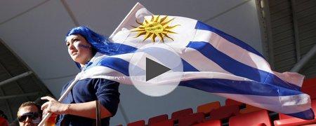 乌拉圭2-1韩国 上半场