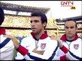 视频:星条旗飘扬球场上空 美国队员众志成城
