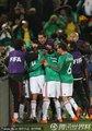墨西哥队员庆祝进球