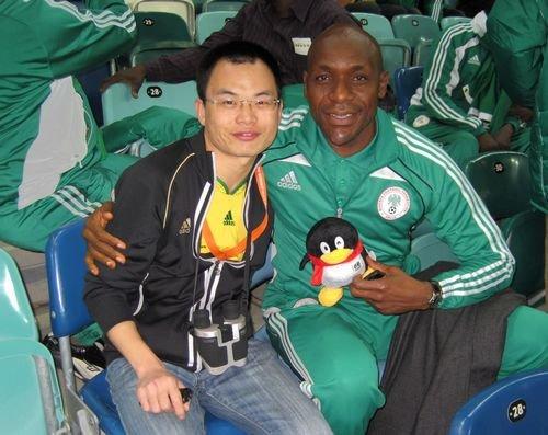 专访尼传奇门将:非洲队压力大 中国需要时间
