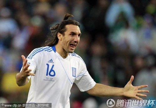 2010世界杯小组赛B组次轮:希腊2-1尼日利亚