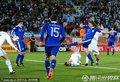 图文:阿根廷2-0希腊 德米凯利斯射门