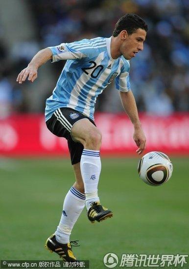 2010世界杯小组赛B组次轮:阿根廷4-1韩国