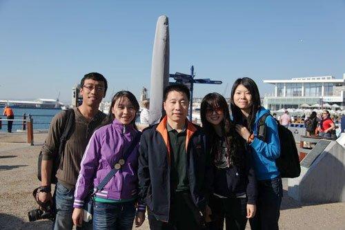 腾讯记者南非巧遇杨利伟 神七航天员反串记者