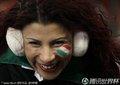 图文:墨西哥2-0法国 美女球迷