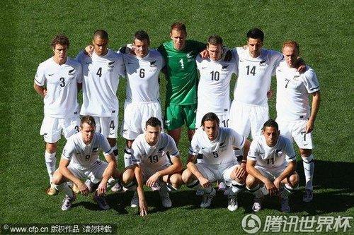 2010世界杯F组首轮:新西兰Vs斯洛伐克