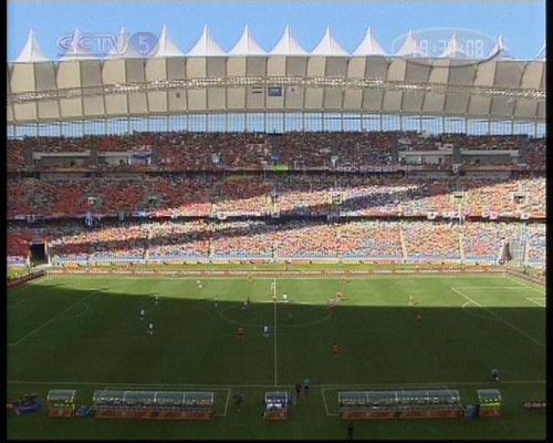 图文:荷兰VS日本 比赛正式开始