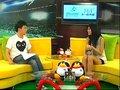 视频:蔡卓妍熬夜看巴西比赛 力挺阿根廷队