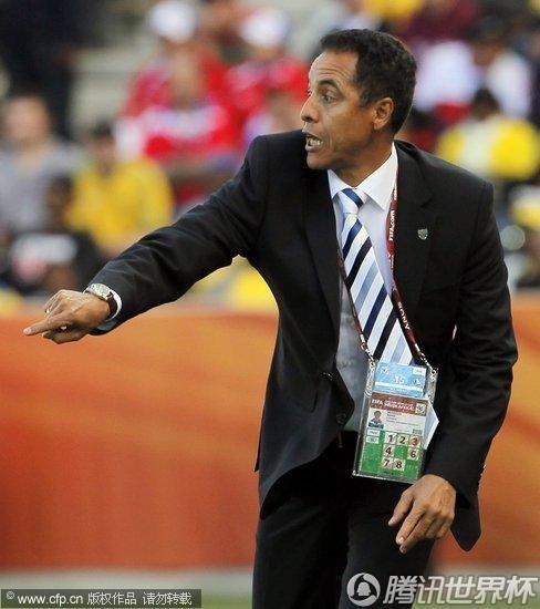 2010世界杯小组赛:智利vs洪都拉斯