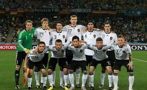 德国队VS澳大利亚队 首发阵容