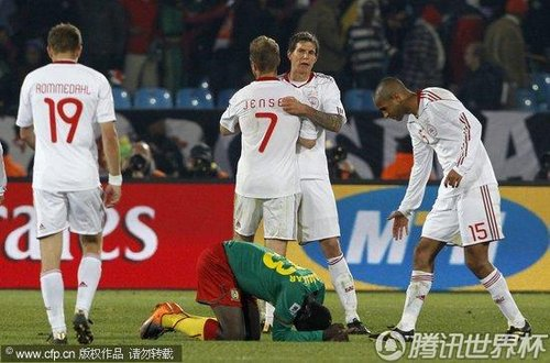 2010世界杯:喀麦隆vs丹麦